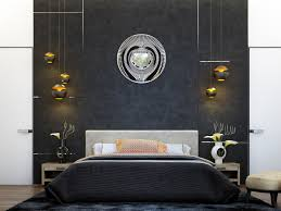 zones bedroom wallpaper:   feature wall black and white bedroom wallpaper