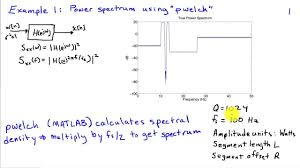 power spectrum estimation examples welch s method power spectrum estimation examples welch s method