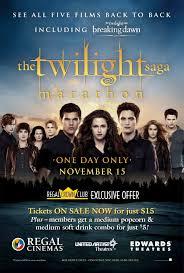regal entertainment group hosts the twilight saga marathon at  full size
