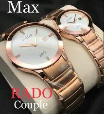 Awesome Rado couple <b>watch</b> | Stylish <b>watches</b> for <b>girls</b>, <b>Watches</b> ...