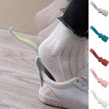 New <b>1Pc Lazy Shoe helper</b> Shoe Horn Shoe Lifting Horn with ...