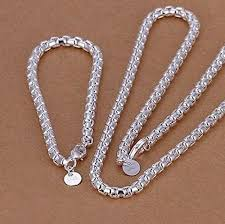 925 silver necklace fashion jewelry heart lock wholesale free shipping n146