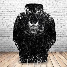 <b>2019</b> Hot New Sweatshirt Customize <b>Venom</b> 3D Printed Hoodies ...