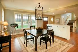 style dining room traditional