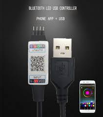 5V USB LED RGB Controller Bluebooth Power <b>For</b> TV Backlight ...