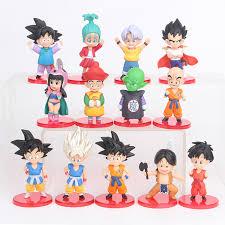 <b>13pcs</b>/<b>set Dragon Ball</b> Z Figures Son Goku ChiChi GuHan Piccolo ...