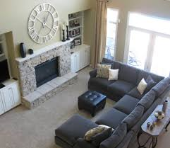 rustic living room furniture black leather