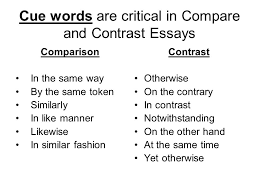 compare and contrast essay for  to kill a mockingbird book vs    cue words are critical in compare and contrast essays comparison in the same way by the