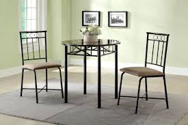 three piece dining set:  piece faux marble top dining set