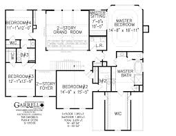 Oxford D House Plan   Colonial House Plans    oxford d house plan   nd floor plan