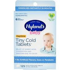 Hyland's <b>Baby Tiny Cold Tablets</b>, Natural Relief of Runny Nose and ...