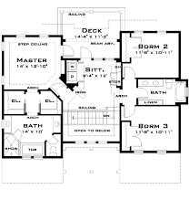 Ground Floor Guest Suite   TD   nd Floor Master Suite    Reverse Floor Plan Pinit white