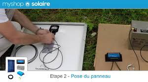 MyShop Solaire - Montage d'un <b>kit panneau solaire</b> de 50W à 150W ...