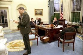 george bush library oval office