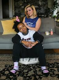 black like me it s time for a deeper conversation about race in entertainer caela bailey top and her girlfriend takiyah taqueets ward