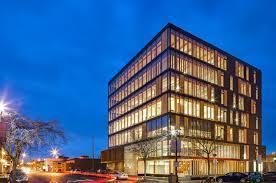 Wood Innovation Design Center Rises As Worldu002639s Largest Timber Office Building Architecture  Inhabitat