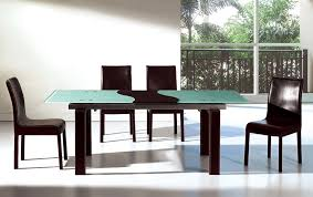 Dining Room Tables Contemporary Modern Small Dining Room Design Displaying Clear Glass Rectangular