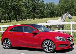 new car launches europeMercedes Benz new AClass compact car pre launch activity