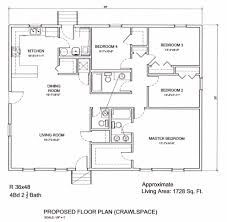 Bedroom Ranch House Plans   Long Ranch Style House Plans          Bedroom Ranch House Plans   Ranch House Floor Plans