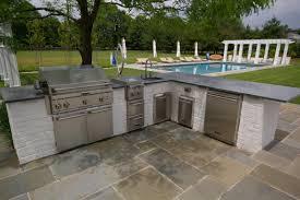 Countertop For Outdoor Kitchen Outdoor Kitchens Archives Garden Design Inc