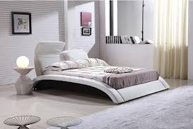 leather creative bed curved personality modern bed bed design bed design latest designs