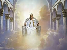 Image result for free pictures of Jesus sitting on a throne