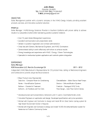 insurance sperson resume hvac resume objective hvac resume examples hvac resume sample no