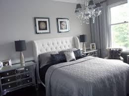 beautiful gray bedroom design with chandelier bedrooms mirrored furniture