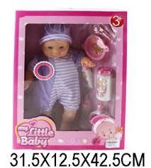 Пупс My little baby озвученный с аксессуарами 81601A <b>Shantou</b> ...