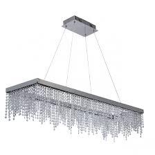 Купить Подвесной светильник хрустальная цвет Хром <b>CHIARO</b> ...