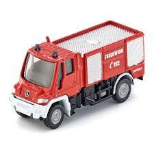 Автомодель <b>Siku</b> Пожарная машина Unimog 1:87 (1068 ...