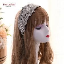 Купить TOPQUEEN Silver Bridal Headpieces Crown Wedding ...