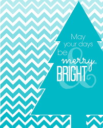 craftionary merry and bright christmas printable