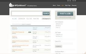 wordpress jobboard theme blog click to enlarge