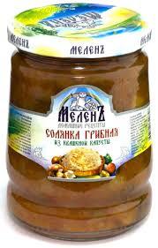 Солянка <b>грибная</b> из квашеной капусты <b>Меленъ</b>, 530 г — купить в ...