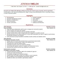cover letter resume sample for office manager sample resume for cover letter business office manager resume sample operation objective exampleresume sample for office manager extra medium