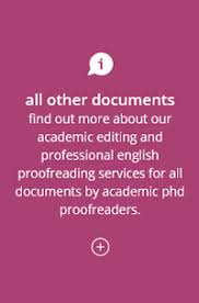 Academic proofreading services and editing services for PhD theses          Academic Editing and Proofreading Services