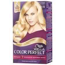 <b>Wella</b> Color Perfect <b>Стойкая крем</b>-<b>краска для</b> волос — купить по ...