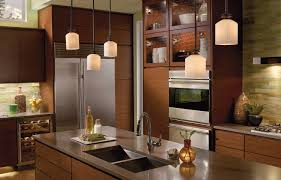 fancy small white shade with oilr rubber bronze iron finish above sheet metal island countertop appealing pendant lights kitchen