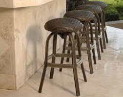 outdoor bar stools swivel