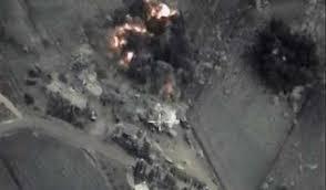 Image result for بمباران مخفیگاه سرکرده جدید «جیشالاسلام» از سوی جنگندههای سوری