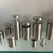 19mmx40mm <b>10pcs Stainless Steel</b> Acrylic Advertisement Fixing ...