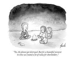 Signed <b>print</b> of my <b>New</b> Yorker <b>cartoon</b> Yes The Planet Got | Etsy