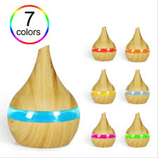 Electric Humidifier Essential Aroma Oil Diffuser Ultrasonic Wood ...