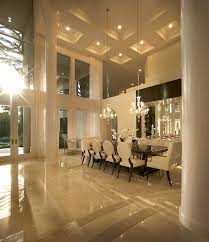 dining room designer furniture exclussive high: love the high ceilings and majestic glass windows in this immaculate dining room