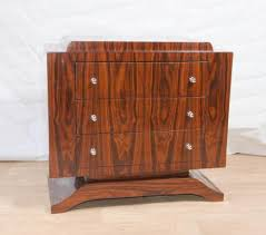 art deco rosewood chest drawers commode cabinet furniture art deco furniture design