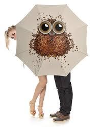 """Зонт-трость с деревянной ручкой """"Кофе для <b>совы</b>"""" #2815241 от ..."""