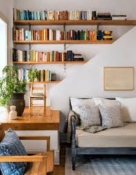 Living Room With Bookcase Bookshelf Ideas How To Arrange Bookshelves
