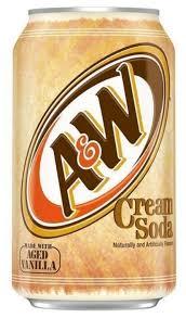 Купить <b>Газированный напиток A&W</b> Cream Soda, 0.355 л по ...