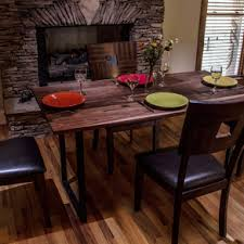 7ft dining table: walnut dining table walnut tabletop modern dining table
